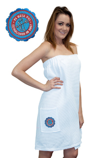 DISCOUNT-Pi Beta Phi Seal Towel Wrap