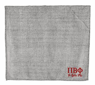 Pi Beta Phi Sherpa Blanket