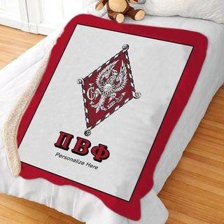 Pi Beta Phi Sherpa Lap Blanket