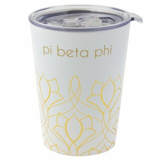 Pi Beta Phi Short Coffee Tumblers