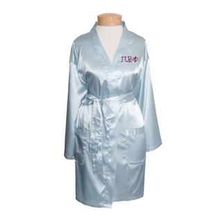 Pi Beta Phi Short Satin Robe