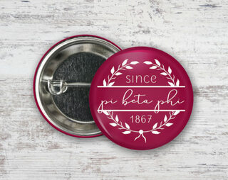 Pi Beta Phi Since Founded Button