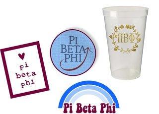 Pi Beta Phi Sorority Large Pack $15.00