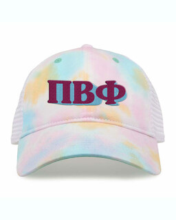 Pi Beta Phi Sorority Sorbet Tie Dyed Twill Hat