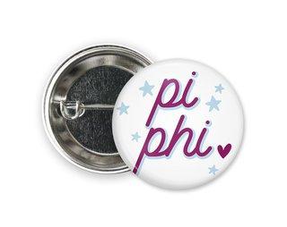 Pi Beta Phi Star Button