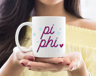 Pi Beta Phi Star Mug
