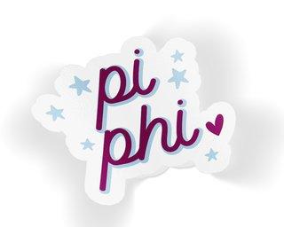 Pi Beta Phi Star Sticker