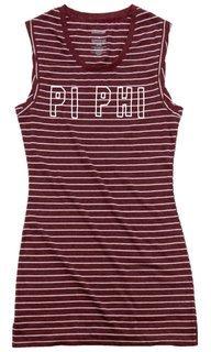 Pi Beta Phi Striped Tee Dress