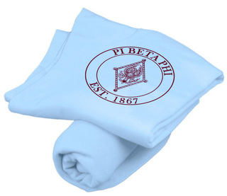 Pi Beta Phi Sweatshirt Blankets