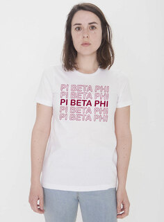 Pi Beta Phi Thank You For Shopping Tee - Comfort Colors