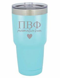 Pi Beta Phi Vacuum Insulated Tumbler