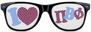 Pi Beta Phi Wayfarer Style Lens Sunglasses