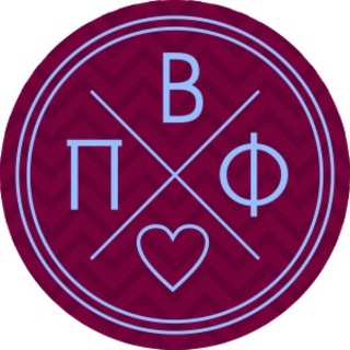 Pi Beta Phi Well Balanced Round Decals