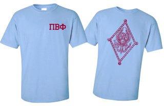Pi Beta Phi World Famous Greek Crest T-Shirts - $16.95!- MADE FAST!