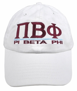 Pi Beta Phi World Famous Line Hat - MADE FAST!