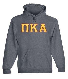 Pi Kappa Alpha - 2 Day Ship Twill Hooded Sweatshirt