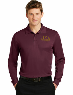 Pi Kappa Alpha- $30 World Famous Long Sleeve Dry Fit Polo