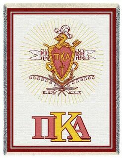 Pi Kappa Alpha Afghan Blanket Throw