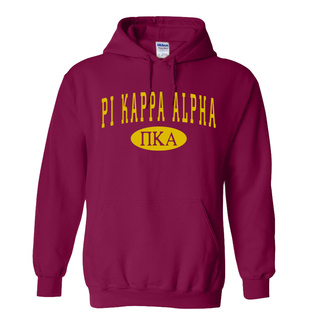 Pi Kappa Alpha arch Hoodie