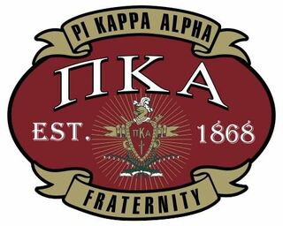 Pi Kappa Alpha Banner Crest - Shield Decal