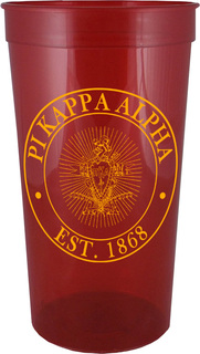 Pi Kappa Alpha Big Plastic Stadium Cup