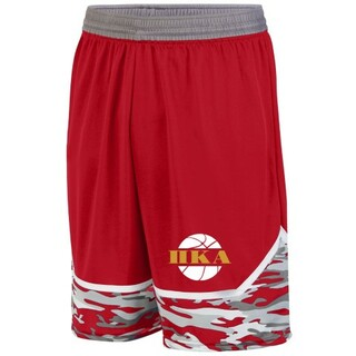 Pi Kappa Alpha Camo Game Day Basketball Short