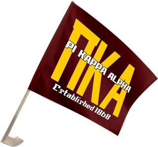 Pi Kappa Alpha Car Flag