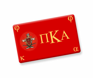 Pi Kappa Alpha Ceramic Flag Magnet