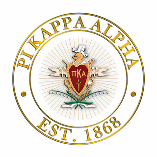 Pi Kappa Alpha Circle Crest - Shield Decal