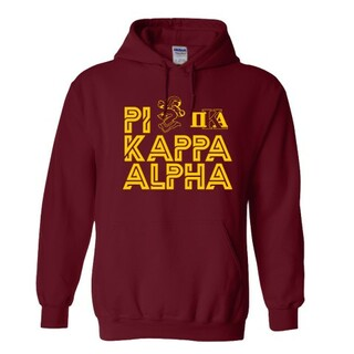 Pi Kappa Alpha Crest - Shield Element Hoodie