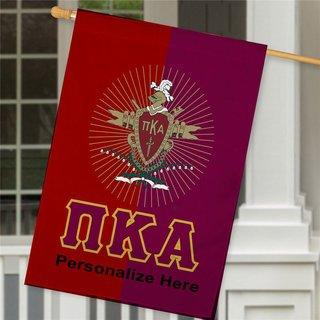 Pi Kappa Alpha Crest House Flag