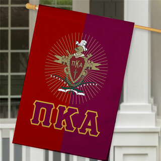 Pi Kappa Alpha Crest House Flag
