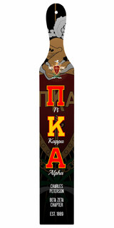 Pi Kappa Alpha Custom Full Color Paddle