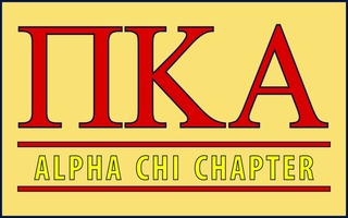 Pi Kappa Alpha Custom Line Sticker Decal