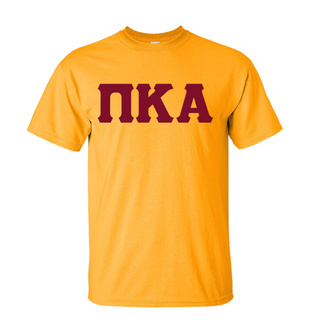 Pi Kappa Alpha Discount Twill Lettered Tee