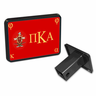 Pi Kappa Alpha Flag Trailer Hitch Cover