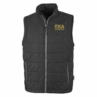 Pi Kappa Alpha Fraternity Radius Quilted Vest