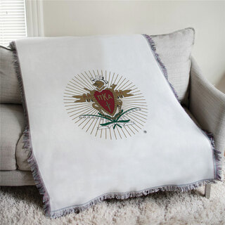 Pi Kappa Alpha Full Color Crest Afghan Blanket Throw