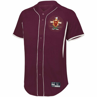 Pi Kappa Alpha Game 7 Full-Button Baseball Jersey