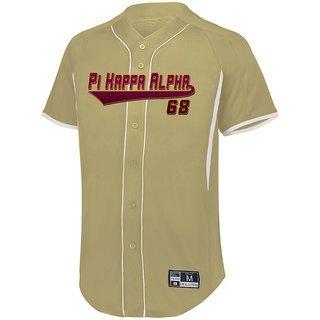Pi Kappa Alpha Game 7 Full-Button Baseball Jersey