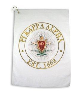 Pi Kappa Alpha Giant Crest Golf Towel