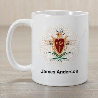 Pi Kappa Alpha Greek Crest Coffee Mug - Personalized!