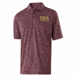 Pi Kappa Alpha Greek Letter Electrify Polo