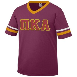 DISCOUNT-Pi Kappa Alpha Jersey With Custom Sleeves