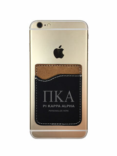 Pi Kappa Alpha Leatherette Phone Wallet