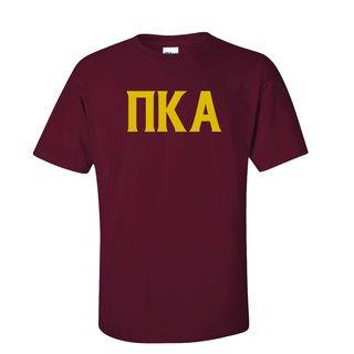 Pi Kappa Alpha letter tee