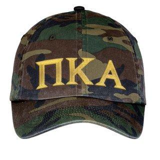 Pi Kappa Alpha Lettered Camouflage Hat