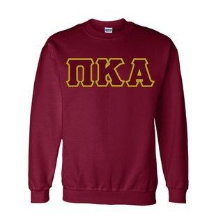 Pi Kappa Alpha Lettered Crewneck Sweatshirt