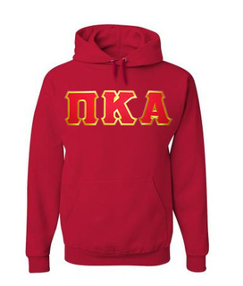 Pi Kappa Alpha Lettered Greek Hoodie- MADE FAST!