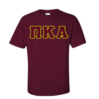Pi Kappa Alpha Sewn Lettered T-Shirt